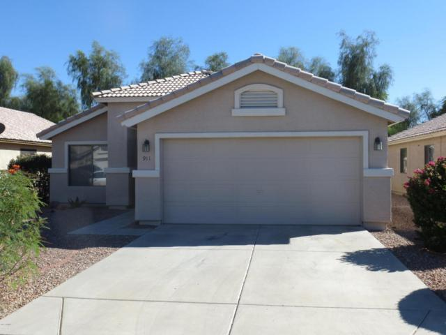 911 E Calle Bolo Lane, Goodyear, AZ 85338 (MLS #5664702) :: The Daniel Montez Real Estate Group