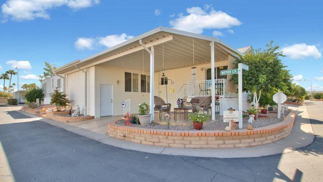 111 S Greenfield Road #157, Mesa, AZ 85206 (MLS #5674072) :: Kelly Cook Real Estate Group