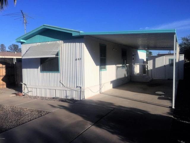 602 W Verde Lane, Coolidge, AZ 85128 (MLS #5675800) :: Yost Realty Group at RE/MAX Casa Grande