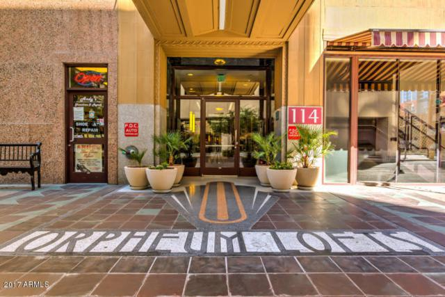 114 W Adams Street #509, Phoenix, AZ 85003 (MLS #5680568) :: Cambridge Properties