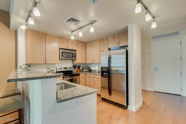 310 S 4TH Street #1208, Phoenix, AZ 85004 (MLS #5684518) :: Brett Tanner Home Selling Team