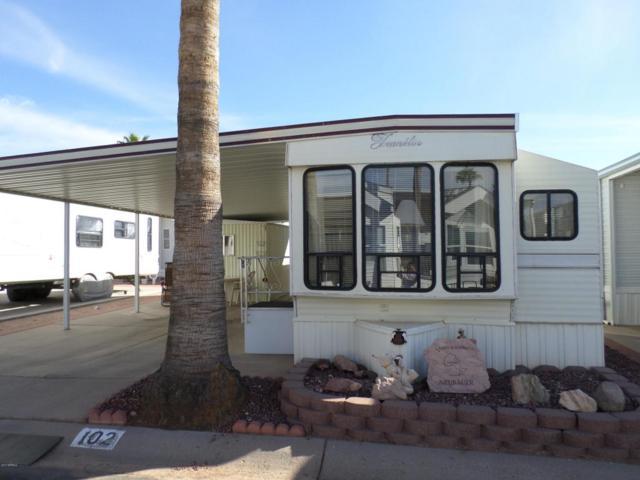 3710 S Goldfield Road #102, Apache Junction, AZ 85119 (MLS #5687493) :: Brett Tanner Home Selling Team