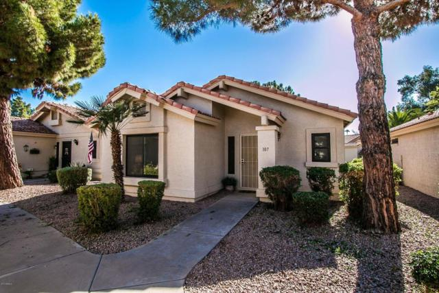 1120 N Val Vista Drive #107, Gilbert, AZ 85234 (MLS #5689239) :: The Daniel Montez Real Estate Group