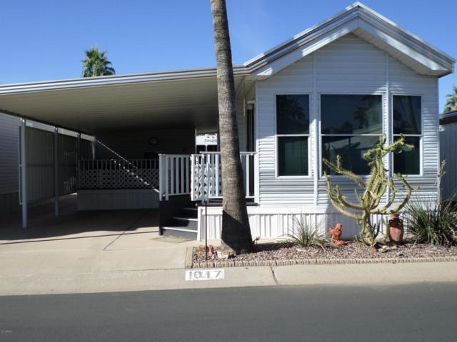 3710 S Goldfield Road #1017, Apache Junction, AZ 85119 (MLS #5691334) :: The Kenny Klaus Team