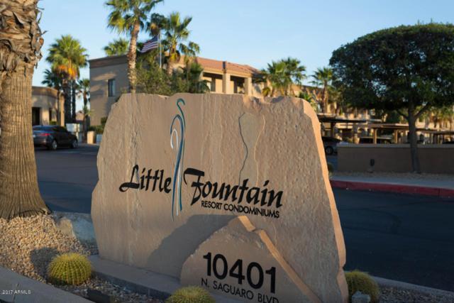 10401 N Saguaro Boulevard #128, Fountain Hills, AZ 85268 (MLS #5694586) :: Private Client Team