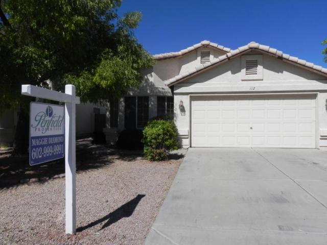 112 W Smoke Tree Road, Gilbert, AZ 85233 (MLS #5698249) :: Group 46:10