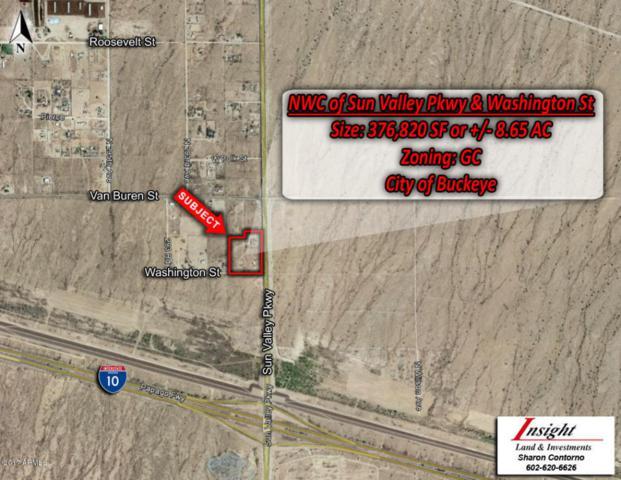 116 N Palo Verde Avenue, Buckeye, AZ 85396 (MLS #5699202) :: Kortright Group - West USA Realty