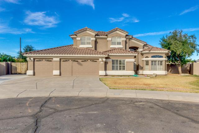 1220 S Harrington Street, Gilbert, AZ 85233 (MLS #5699288) :: Brett Tanner Home Selling Team