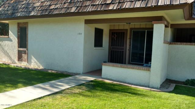 8161 N 107TH Avenue #104, Peoria, AZ 85345 (MLS #5699414) :: Kortright Group - West USA Realty