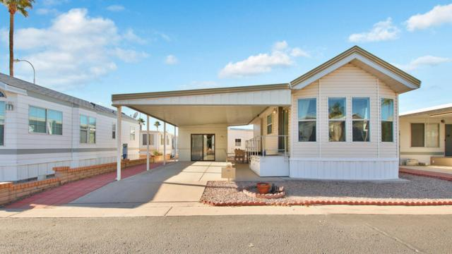 111 S Greenfield Road #761, Mesa, AZ 85206 (MLS #5703323) :: Kelly Cook Real Estate Group