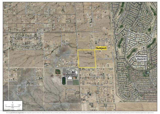 0 N Gary And Silverdale Road, Queen Creek, AZ 85143 (MLS #5705809) :: Brett Tanner Home Selling Team
