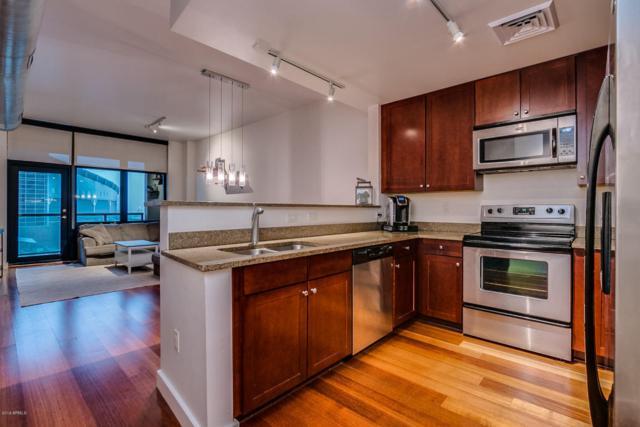 310 S 4TH Street #807, Phoenix, AZ 85004 (MLS #5707023) :: Brett Tanner Home Selling Team