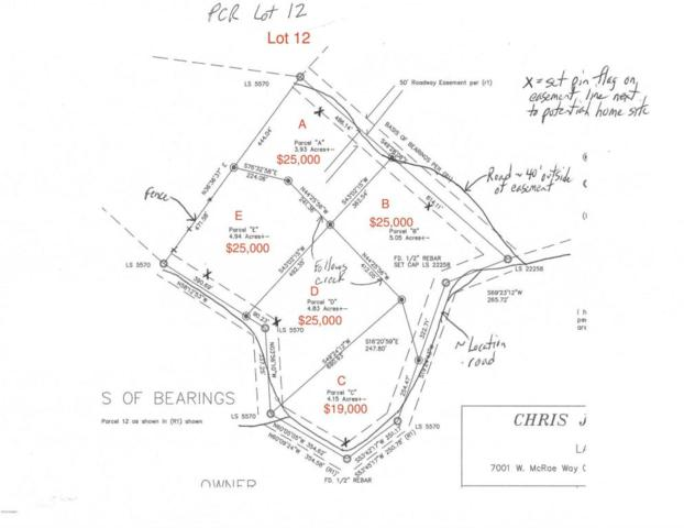 0 N Cow Creek Lot E Road, Morristown, AZ 85342 (MLS #5709937) :: Private Client Team