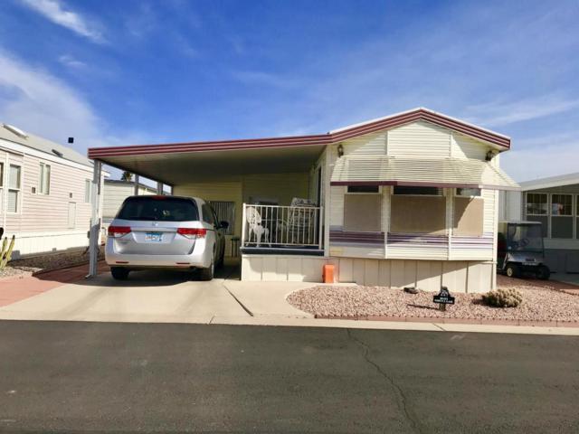 7750 E Broadway Road #447, Mesa, AZ 85208 (MLS #5712748) :: The Pete Dijkstra Team