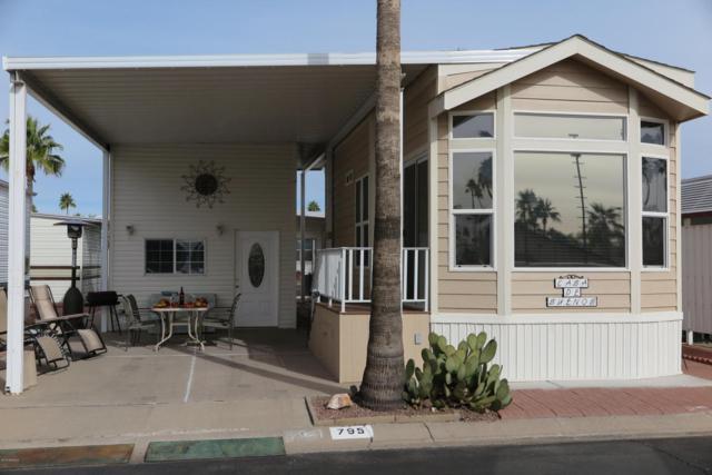 3710 S Goldfield Road #795, Apache Junction, AZ 85119 (MLS #5712782) :: Brett Tanner Home Selling Team