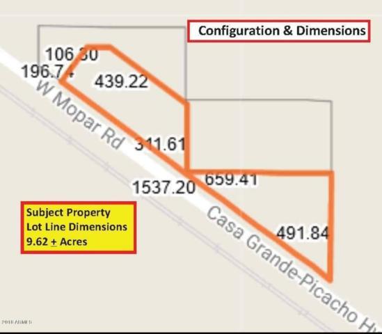0 Jimmie Kerr (Frontier-W-Hy84) Boulevard, Eloy, AZ 85131 (MLS #5713082) :: My Home Group