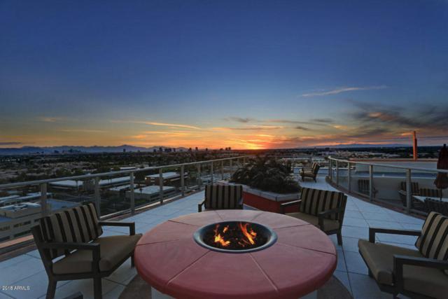 2211 E Camelback Road #1202, Phoenix, AZ 85016 (MLS #5716566) :: 10X Homes