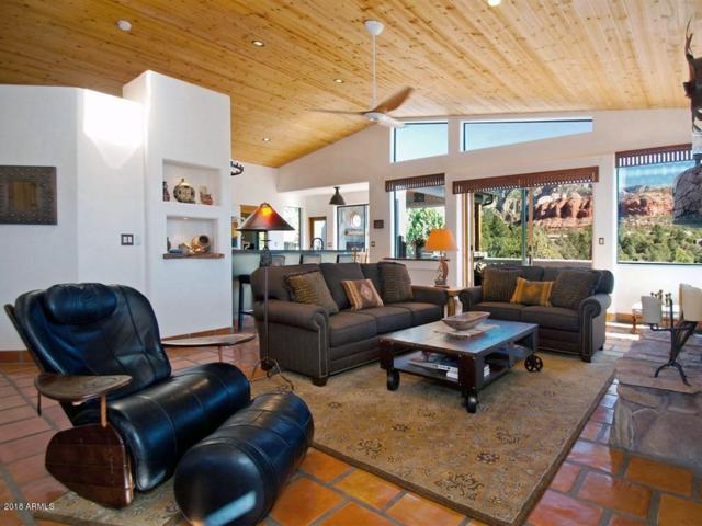 90 Doodlebug Knolls, Sedona, AZ 86336 (MLS #5725584) :: Yost Realty Group at RE/MAX Casa Grande