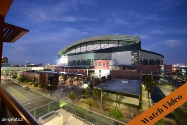 310 S 4TH Street #608, Phoenix, AZ 85004 (MLS #5725827) :: Brett Tanner Home Selling Team
