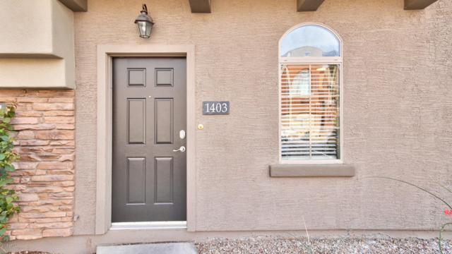 2402 E 5TH Street #1403, Tempe, AZ 85281 (MLS #5727156) :: 10X Homes