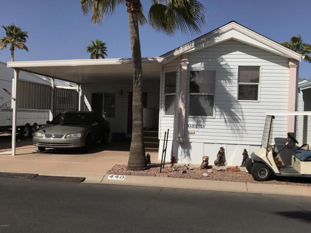 3710 S Goldfield Road #440, Apache Junction, AZ 85119 (MLS #5729403) :: The Daniel Montez Real Estate Group