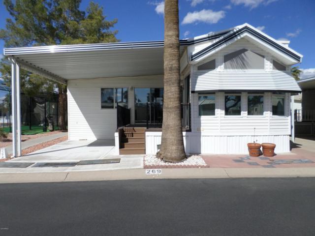 3710 S Goldfield Road #269, Apache Junction, AZ 85119 (MLS #5733012) :: Brett Tanner Home Selling Team