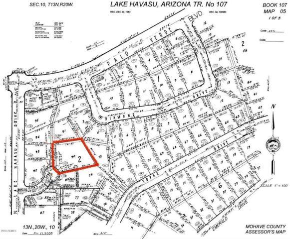 244 Opal Lane, Lake Havasu City, AZ 86403 (MLS #5736211) :: The Daniel Montez Real Estate Group