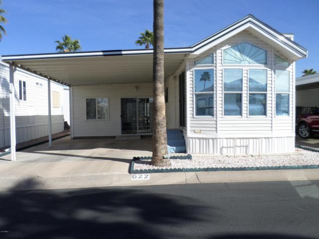 3710 S Goldfield Road #622, Apache Junction, AZ 85119 (MLS #5736296) :: Brett Tanner Home Selling Team