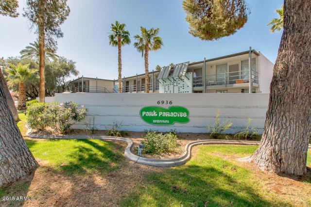 6936 E 4TH Street #8, Scottsdale, AZ 85251 (MLS #5738563) :: Brett Tanner Home Selling Team