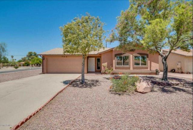 704 W Hess Avenue, Coolidge, AZ 85128 (MLS #5739435) :: Yost Realty Group at RE/MAX Casa Grande