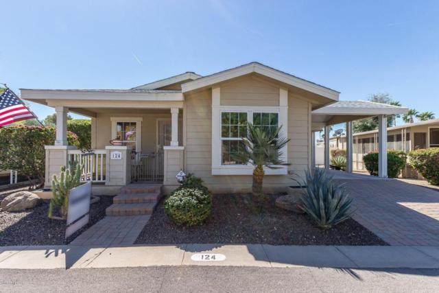 201 S Greenfield Road #124, Mesa, AZ 85206 (MLS #5740070) :: Brett Tanner Home Selling Team
