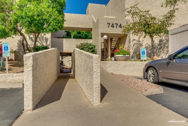 7474 E Earll Drive #109, Scottsdale, AZ 85251 (MLS #5752170) :: Brett Tanner Home Selling Team