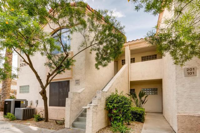 5249 E Shea Boulevard #201, Scottsdale, AZ 85254 (MLS #5754998) :: Brett Tanner Home Selling Team