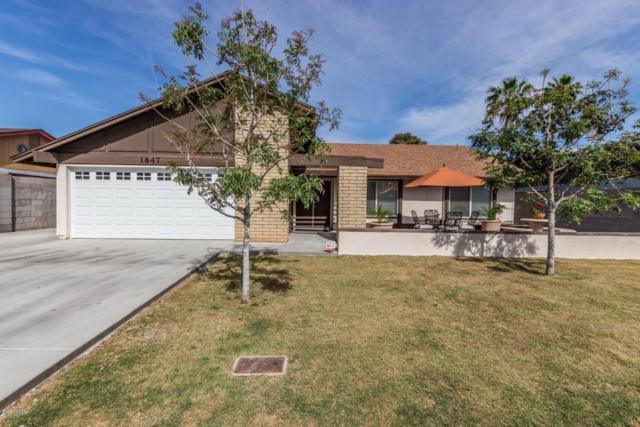1647 S Briar, Mesa, AZ 85204 (MLS #5756159) :: The Pete Dijkstra Team