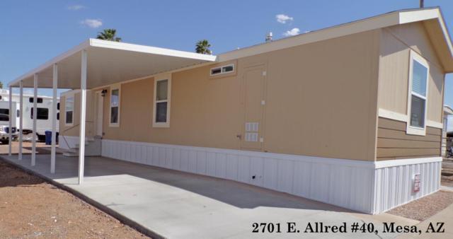 2701 E Allred Avenue #40, Mesa, AZ 85204 (MLS #5759509) :: My Home Group