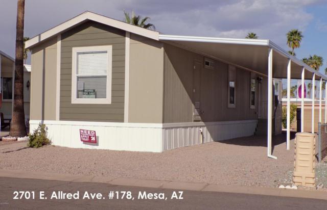 2701 E Allred Avenue #178, Mesa, AZ 85204 (MLS #5759515) :: My Home Group