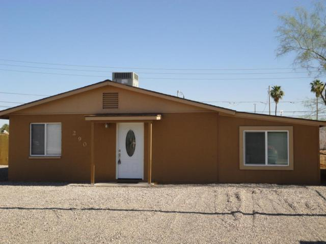 290 W Lincoln Avenue, Coolidge, AZ 85128 (MLS #5765851) :: Yost Realty Group at RE/MAX Casa Grande