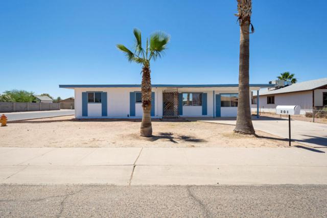 201 W Barrus Place, Casa Grande, AZ 85122 (MLS #5770320) :: Yost Realty Group at RE/MAX Casa Grande