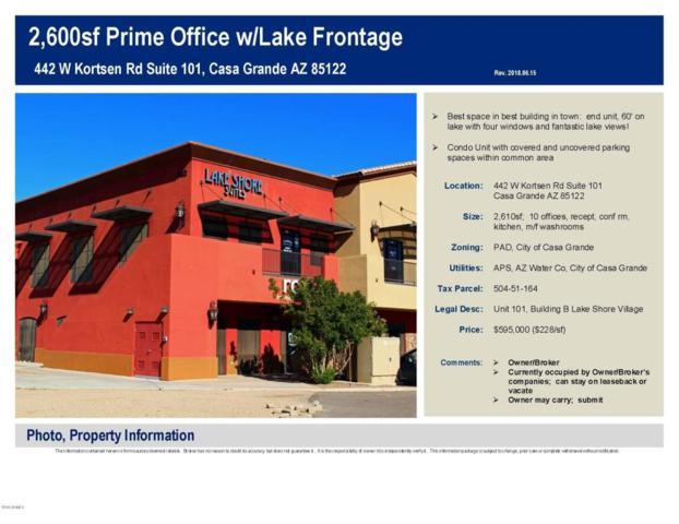 442 W Kortsen Road #101, Casa Grande, AZ 85122 (MLS #5781193) :: The Daniel Montez Real Estate Group