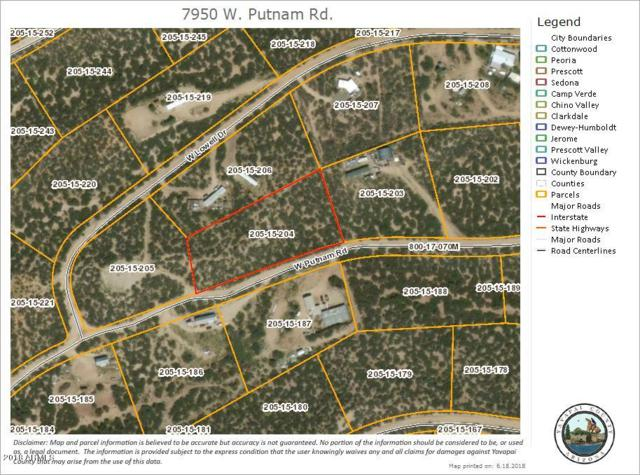 7950 W Putnam Orchard, Wilhoit, AZ 86332 (MLS #5782054) :: The Garcia Group @ My Home Group