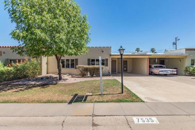 7535 E Rancho Vista Drive, Scottsdale, AZ 85251 (MLS #5782938) :: The Worth Group