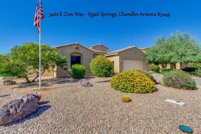 3462 E Zion Way, Chandler, AZ 85249 (MLS #5787402) :: The Garcia Group @ My Home Group