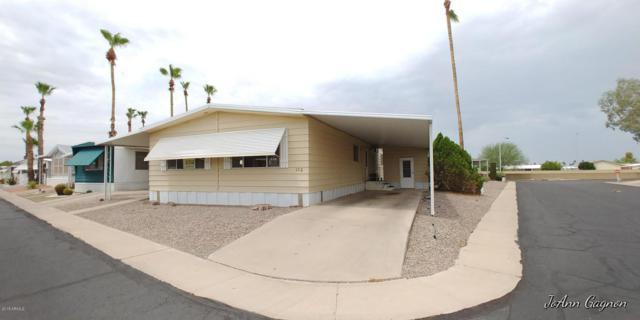 305 S Val Vista Drive #102, Mesa, AZ 85204 (MLS #5794969) :: Brett Tanner Home Selling Team