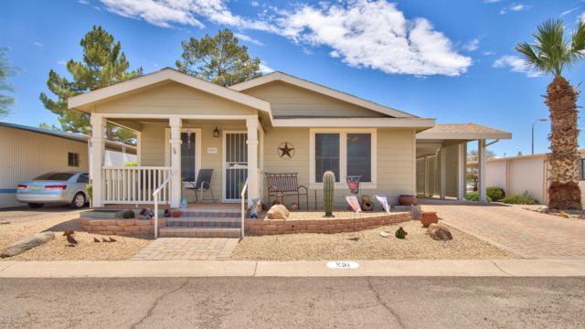 201 S Greenfield Road #251, Mesa, AZ 85206 (MLS #5795010) :: Brett Tanner Home Selling Team