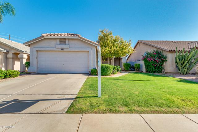 982 E Scott Avenue, Gilbert, AZ 85234 (MLS #5795865) :: Berkshire Hathaway Home Services Arizona Properties