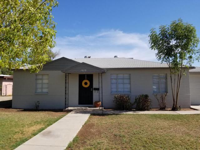 1419 W 1ST Street, Mesa, AZ 85201 (MLS #5795915) :: Group 46:10