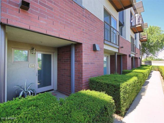525 W Lakeside Drive #103, Tempe, AZ 85281 (MLS #5796001) :: Lux Home Group at  Keller Williams Realty Phoenix