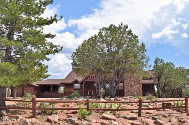 1105 N Camelot Drive, Payson, AZ 85541 (MLS #5800524) :: Occasio Realty