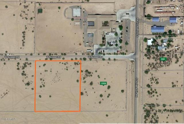 0 W Nugget Road, Arizona City, AZ 85123 (MLS #5806904) :: Yost Realty Group at RE/MAX Casa Grande
