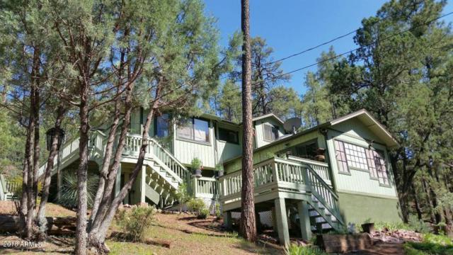 3877 Whispering Pines Road, Pine, AZ 85544 (MLS #5807493) :: The Daniel Montez Real Estate Group